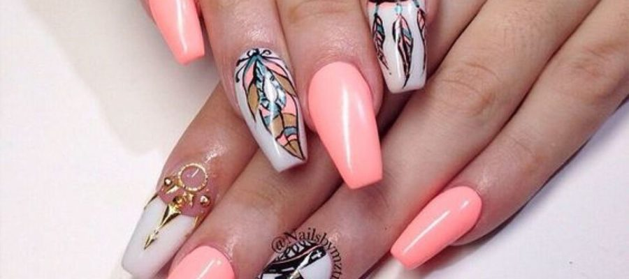 Acrylic Nail Art at The Nailbox Hyderabad INDIA A001
