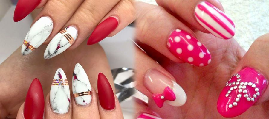 Acrylic Nail Art at The Nailbox Hyderabad INDIA A0012